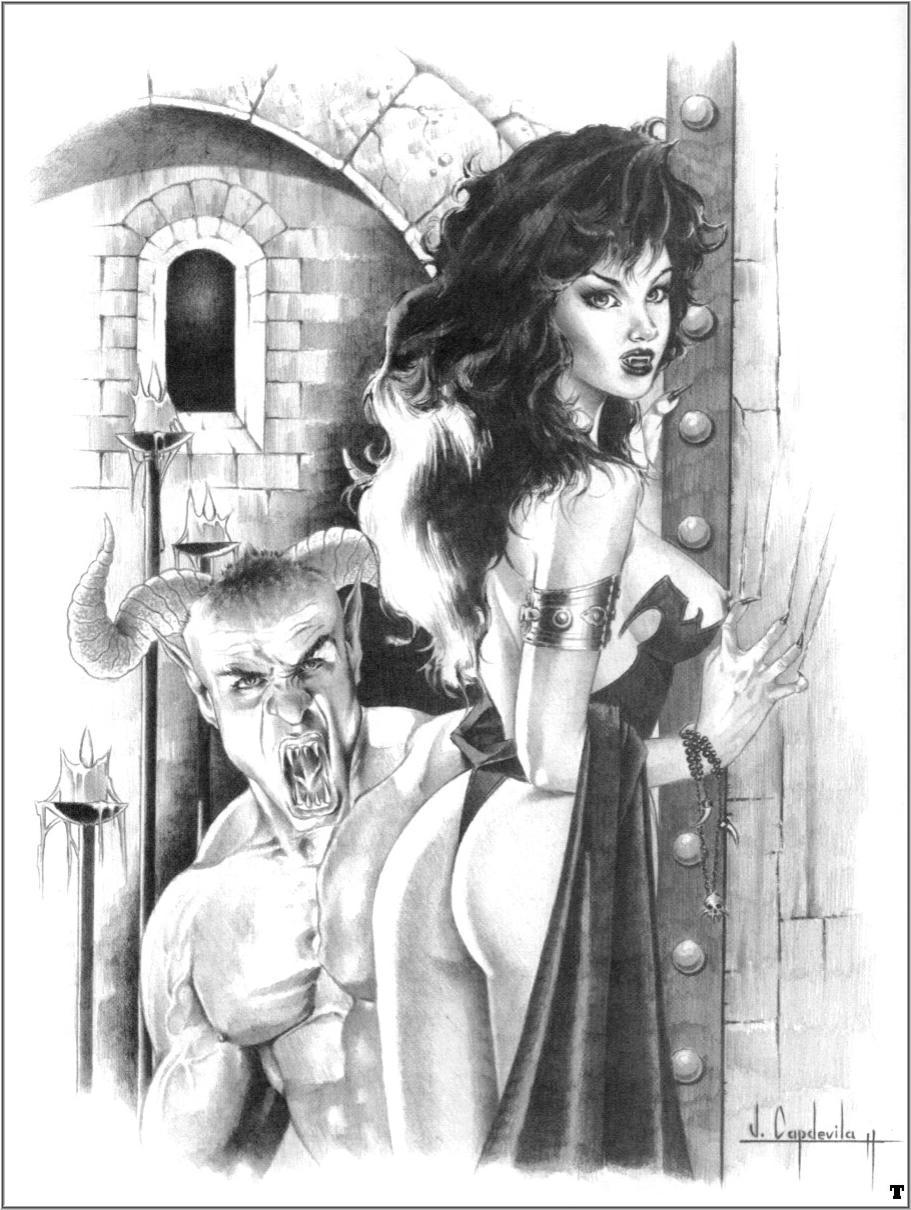 Эротика вампиры картинки 14 фотография