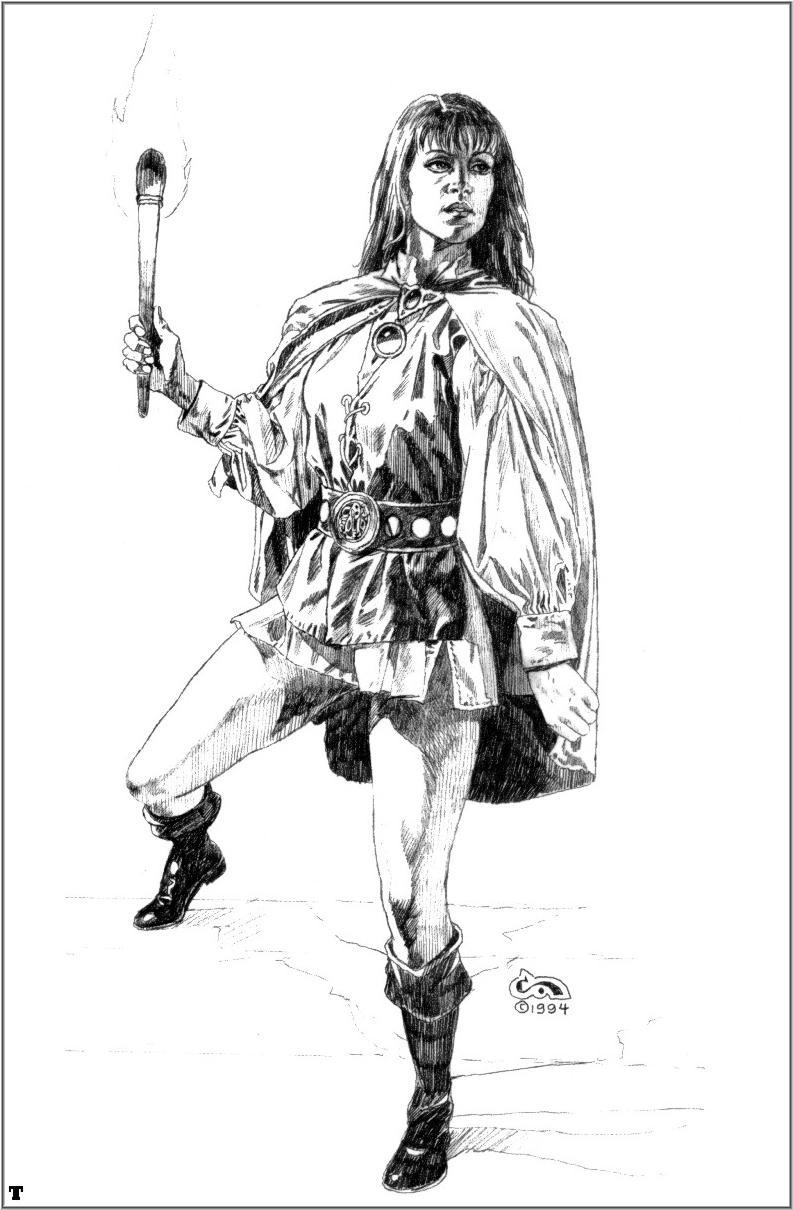 Рисунки карандашом воительниц 23 фотография