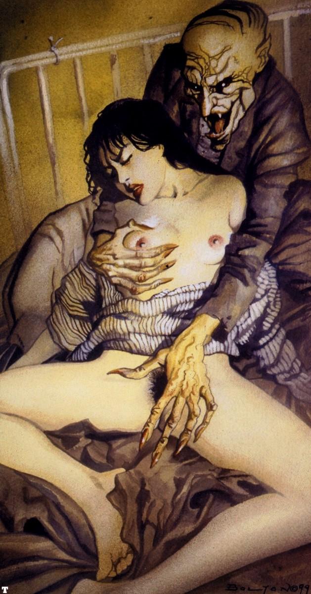 Fantasy Comics ART - John Bolton