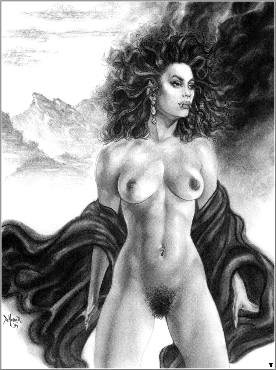 Erotic fantasy art calendars nude photo