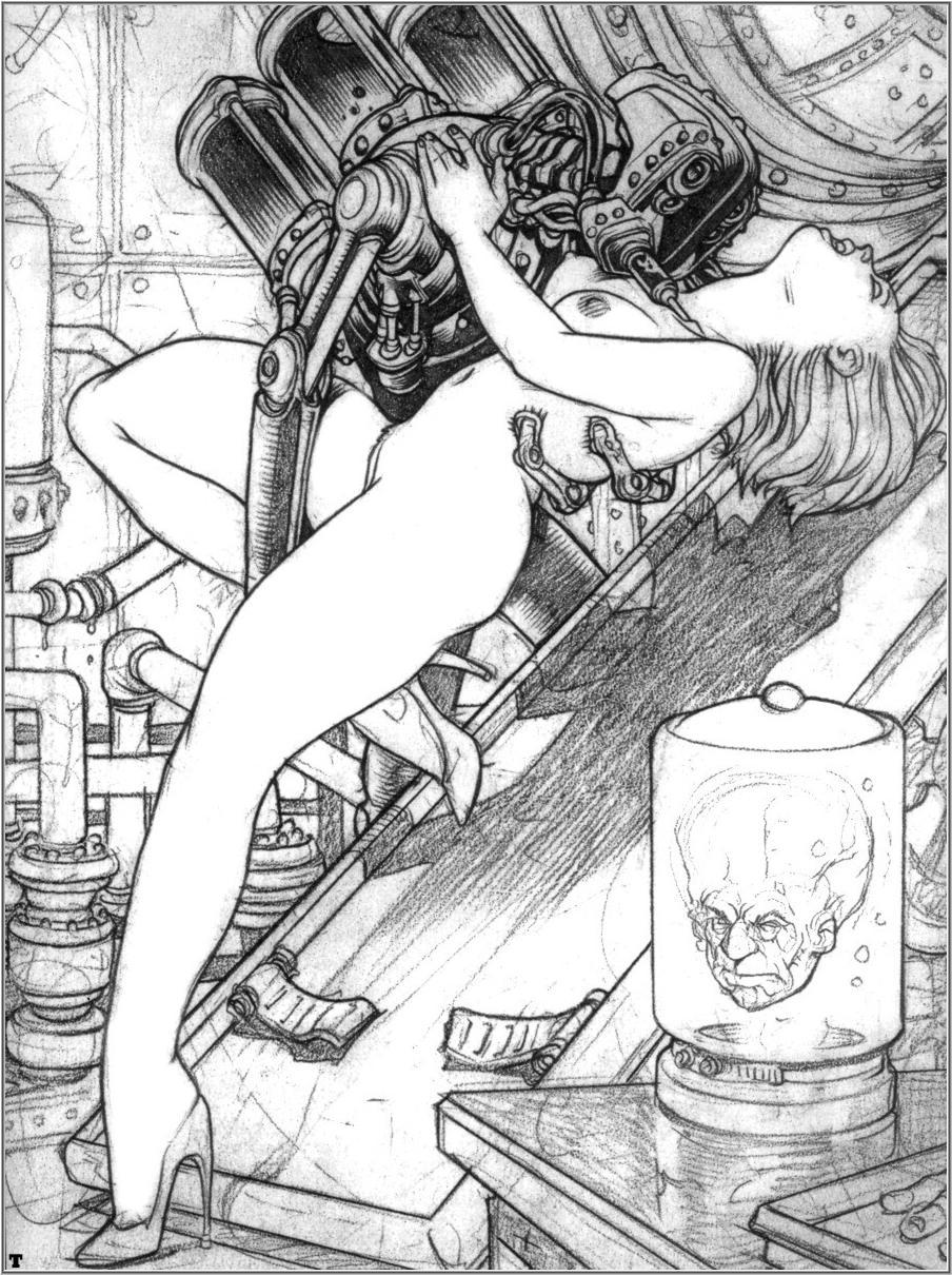 Fantasy Comics ART - Mitch Byrd